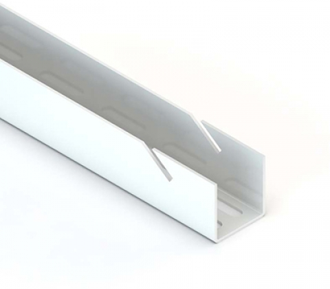 Направляющая навесная, L=1200, белый