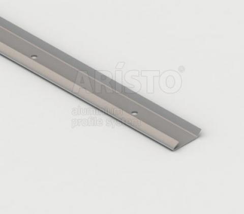 Рельс несущий, L=1300, металлик