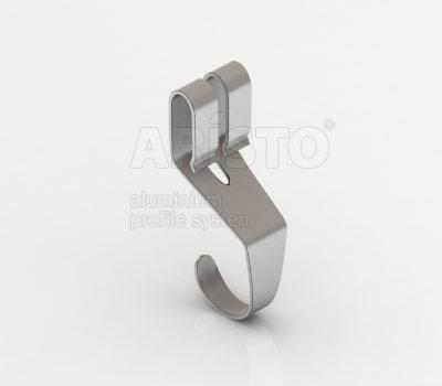 Крючок универсальный (3 шт. в комплекте), металлик