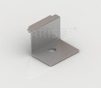 Крепление направляющей навесной (2шт. в комплекте), металлик