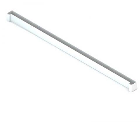 Заглушка-планка для полки проволочной, серия 460, белый