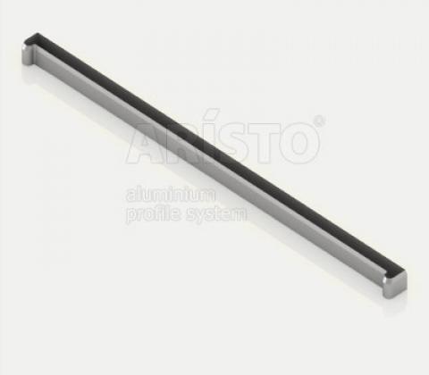 Заглушка-планка для полки проволочной, серия 460, металлик
