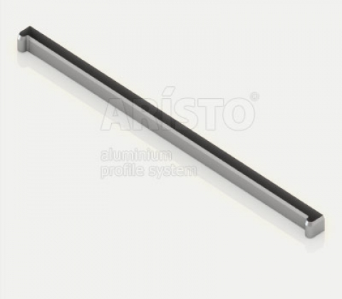 Заглушка-планка для полки проволочной, серия 540, металлик
