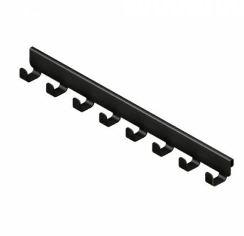 Крючок боковой, серия 460, черный