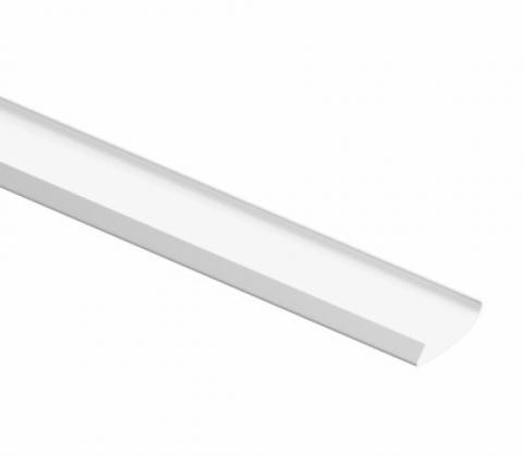 Декоративная накладка для несущего рельса, L=2030, белый